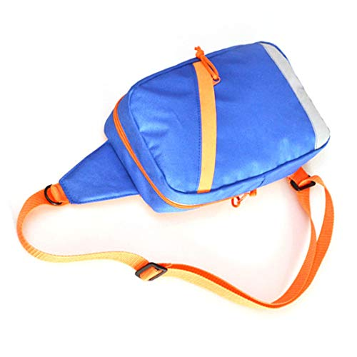Bolsa aire Hombres bolso deporte al Camping solo libre del Casual impermeable de durables hombro Deportes pecho Tamaño Male de portátil CgS85CZ