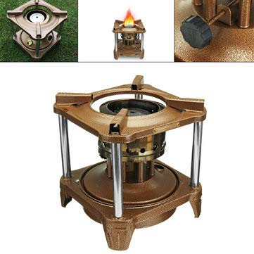 Camping Outdoor Picnic & BBQ - Outdoor Portable Cooking Stove Pocket 8 Wicks Kerosene Stove Burner Camping Heaters