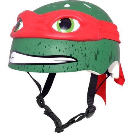 Teenage Mutant Ninja Turtles 16'' Boys' Bike with matching TMNT Raphael Helmet, TMNT Pads and Gloves, Bundle by Teenage Mutant Ninja Turtles (Image #3)