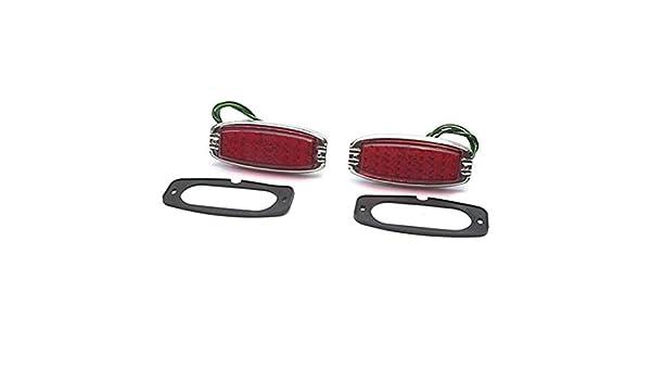 Chevrolet Chevy Passenger Car Tail Lamp Glass Lens 1941-1948