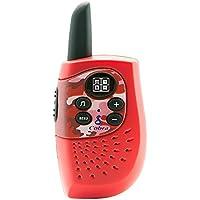 Cobra HE130R Hero Series Walkie Talkies, Red