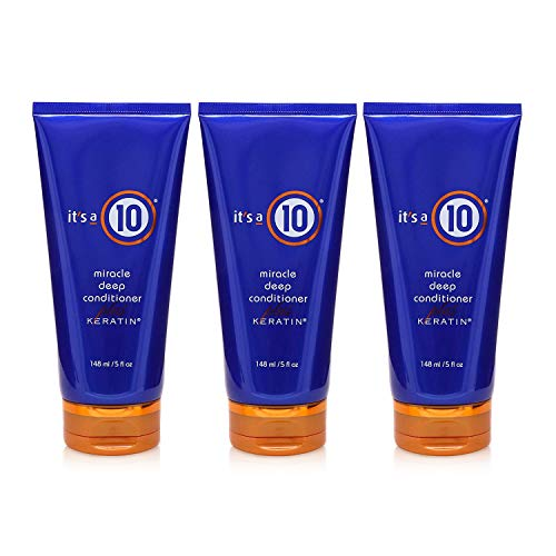 It's a 10 Haircare Miracle Deep Conditioner plus Keratin, 5 fl. oz. (Pack of 3)