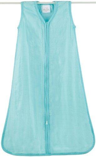 aden + anais Rayón De Bambú saco de dormir, azul sólido, pequeño color: