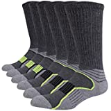 Mens Crew Socks 3 Pack 100% Cotton Mid Calf...