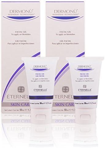 Dermonú Eternelle Pharma -Regenerador antiacné - Gel facial - Pack de 2 X 50 ml: Amazon.es: Belleza