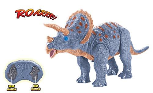 Control Triceratops Walking Dinosaur Shaking