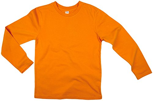 Earth Elements Big Kid's (Youth) Long Sleeve T-Shirt Medium Orange]()