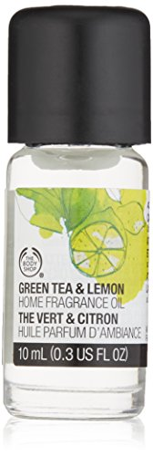 The Body Shop Home Fragrance Green Tea & Lemon Oil - 10ml (Tea Home Fragrance Oil)