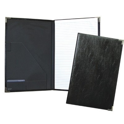 Buxton Legal Writing Folio in Black