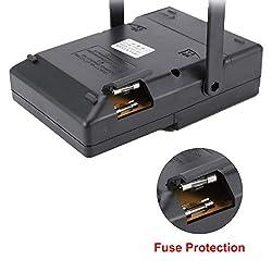 MF-47F Analog Multimeter DC/AC Voltage Current Meter Infrared Detection Handheld hFE Tester Multitester Buzzer Alarm Pointer