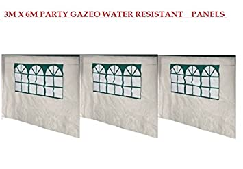 3 X 6 PARTY GAZEBO PANEL ONLY PACK OF 2 Argos Catalogue