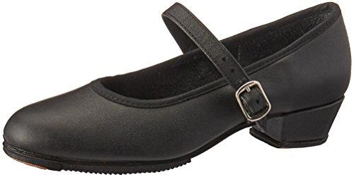 Miguelito F1740PN185 Zapatos de Tacón para Niñas, Color Negro, 18.5