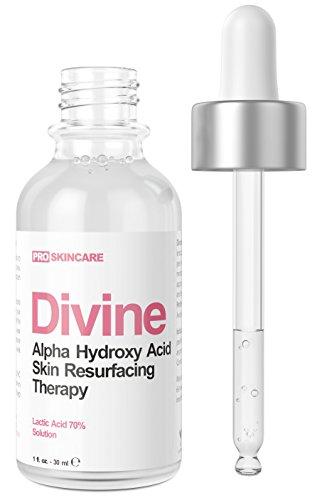 Lactic Acid 70% Gel Peel (Professional Chemical Peel ) AHA Facial Treatment – 1 fl oz. Ideal for Acne, Age Spots, Dark Spots, Hyperpigmentation, Wrinkles and Fine Lines