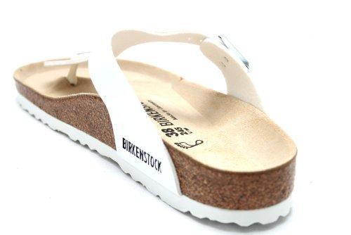 Birkenstock Gizeh L10685G - Tongs - femme - blanc