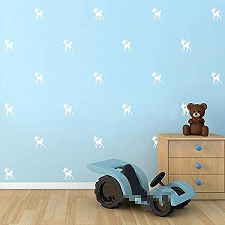 nkfrjz Set Bambi Kindergarten Sala de niños Sala de Pared Tatuajes ...