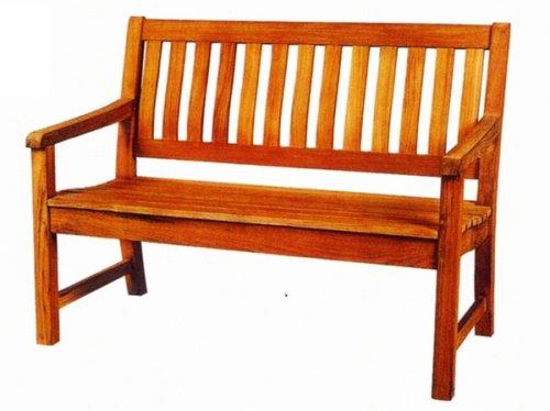【ガーデン家具】チーク ラウンドハウスベンチ120 B0011NB50Y
