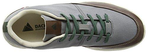 Dachstein Herren Franz Low-Top Grau (stone grey/cocao 4074)