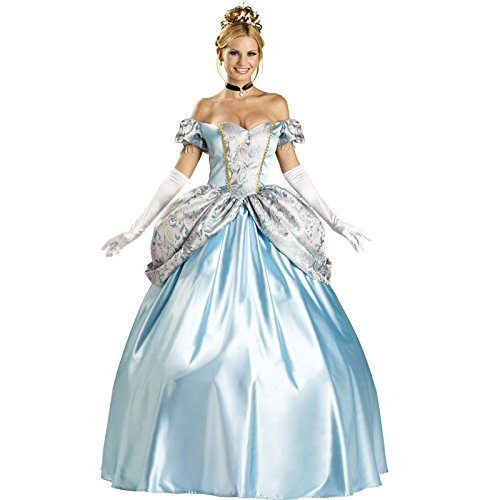 Halloween princess costume women game cosplay dress(16288) (Super Hoops Costumes)