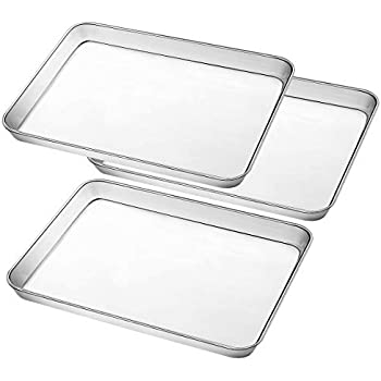 Amazon Com Umite Chef Stainless Steel Baking Pan Large