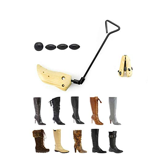 - Eskyshop One Way Unisex Professional Wooden Shoes Stretcher for Boots with Adjustable Width (Unisex Size 9-13)