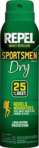 2-Pack REPEL Sportsmen Dry Aerosol Spray