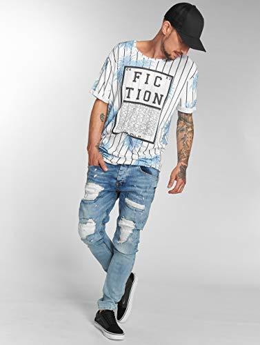 Hank Hombres Clubwear Vaqueros Customized VSCT Vaqueros Pitillos x4vnX15wqf