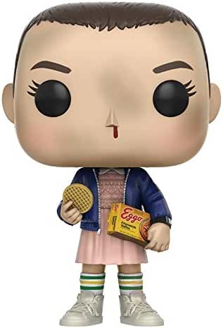 Funko Pop Stranger Things Eleven with Eggos Vinyl Figure , Styles May Vary