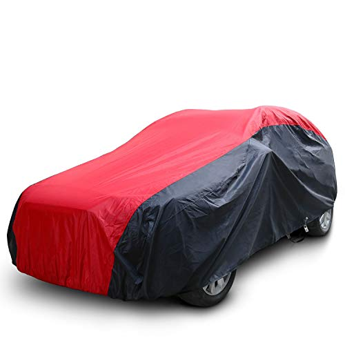 KAKIT Waterproof Car Covers, 7 Layers 420D Oxford Fabric Sedan Car Cover...