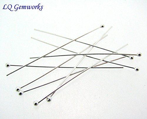 Sterling Silver Ball Head Pins - 7