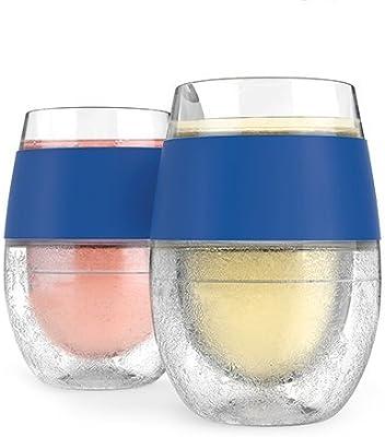 Vasos de pintura para enfriamiento, para congelar vino, color azul ...