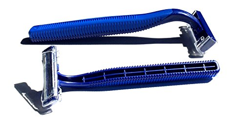 1,000 Box of Bulk Wholesale Disposable Twin Blade Razors for Men and Women by Big Box of Razors (Image #2)