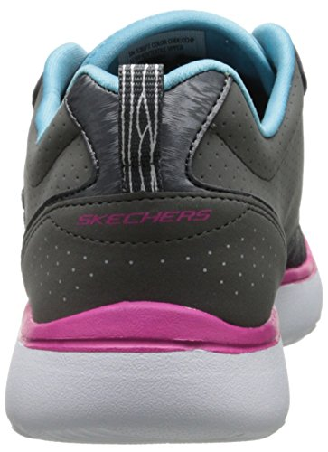 Cchp Skechers basse Counterpart Donna Grau Grigio Sneaker nx61q8v6wf