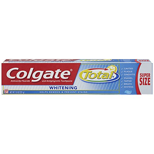 Colgate Total Whitening Gel Toothpaste – 7.8 ounce (6 Pack)