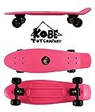 Kobe 40-320065 Penny Board 27-Inch-Pink with Black Wheels