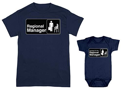 HAASE UNLIMITED Regional Manager/Assistant 2-Pack Bodysuit & Men