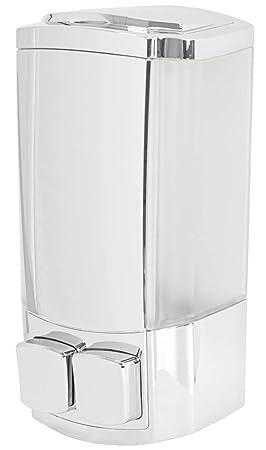 Dispensador Dosificador de Jabón Doble Líquido Shampoo 2 x 150 ml para Pared Sanlingo: Amazon.es: Hogar