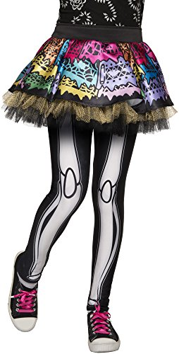 Rubie's Monster High Skelita Calaveras Skeggings Tutu with Leggings -