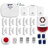 Fortress Security Store DIY Total Security Alarm System C Kit Pet Friendly Sensors, Indoor/Outdoor Stobe Siren, Remote Monitoring with FREE App. for Android & Apple and More for Complete Home Securiy