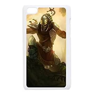 iPod Touch 4 Case White League of Legends Headhunter Master Yi YD490070
