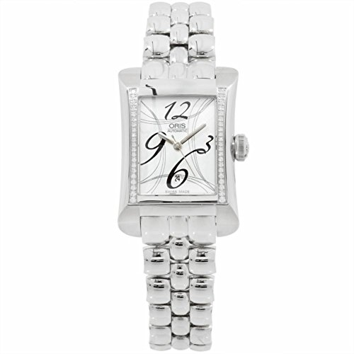 Oris Miles Rectangular automatic-self-wind womens Watch 561 7621 4961 MB (Certified Pre-owned)