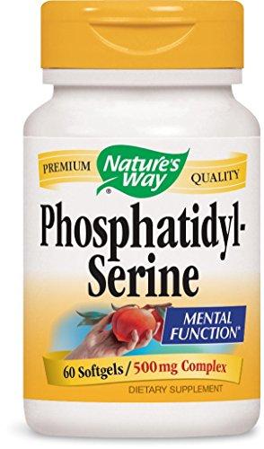 Nature's Way 45161 Phosphatidylserine,500 mg Complex,60 Softgels