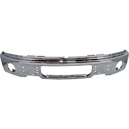 Bumper for Ford F-150 09-14 Front Bumper Chrome w/Fog Light Hole