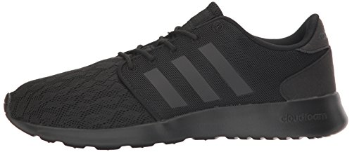 adidas Women's Cloudfoam QT Racer Running Shoe Black/White, 5.5 B - Medium by adidas (Image #5)