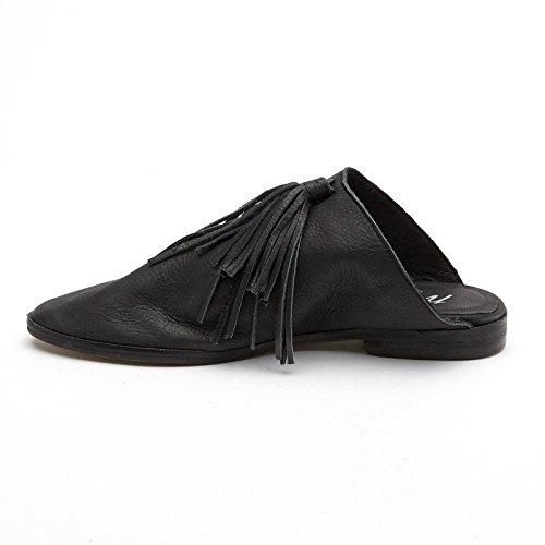 Matisse Arabisk Läder Mule Glider Skor Svarta