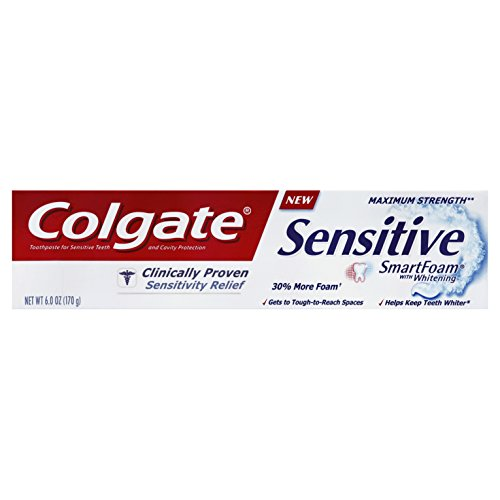 Colgate Sensitive Smartfoam Whitening Toothpaste