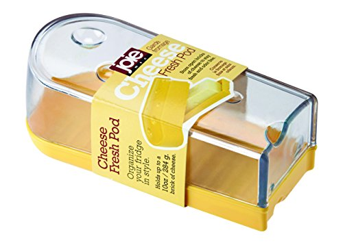 Cheese Keeper (Joie Clear Cheese Fresh Saver Pod, Yellow)