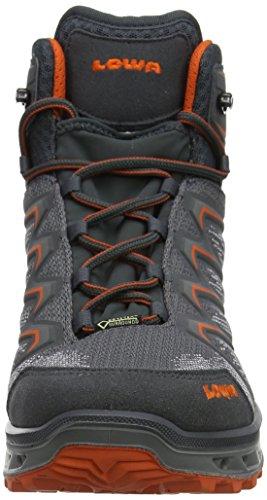 Lowa Escursionismo orange Alti Stivali 9728 Gtx Mid graphit Grigio Da Uomo Aerox Hq4rXwH