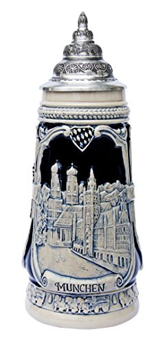 Munich Oktoberfest German Beer Stein German Landmarks