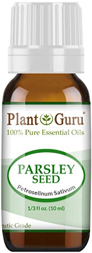 (Parsley Seed Essential Oil 10 ml 100% Pure Undiluted Therapeutic Grade.)