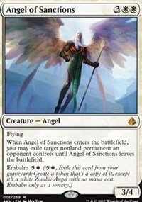 Price comparison product image Angel of Sanctions - Amonkhet